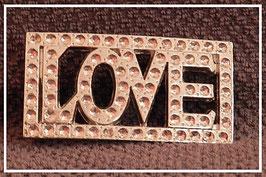 "BOUCLE DE CEINTURE ""LOVE"""