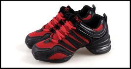 Baskets de danse Rouge et Noire