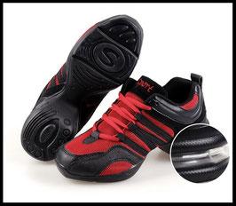 Baskets de danse Rouges et Noires