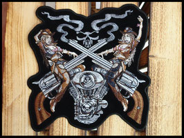 Patch cowgirls et guns