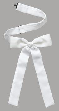Western tie blanc