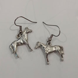 BOUCLES D'OREILLES cheval