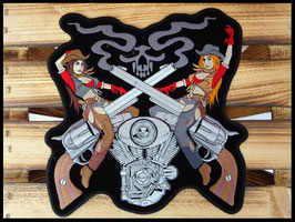 Grand Patch cowgirls et guns