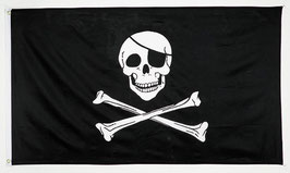 Grand drapeau pirate