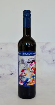 """TRUST YOUR JOURNEY"" - ROTWEIN (RED WINE)"