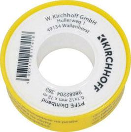 Kirchhoff - PTFE Dichtband DVGW