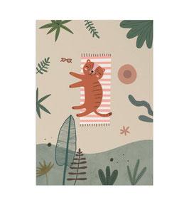 Summer Art Print von Little Otja