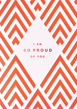 "Klappkarte"" i am so proud of you"" von Lagom Design"