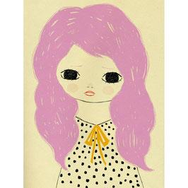Poster Lilly sand von Petit Monkey