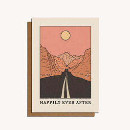 "Grusskarte ""Happily ever after"""