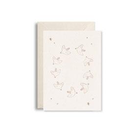 """Postkarte """"Vögel"""" von Studio bydiede"""