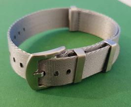 uni einfarbig grau 22 mm 8491