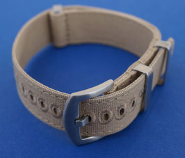 Canvas strap 22 mm sand 7951