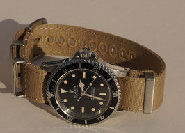 Canvas strap 20 mm sand 7920