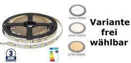 12V Professional LED Streifen, 4,8 Watt, 5 Meter
