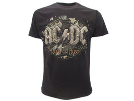 "T-Shirt AC/DC ""Rock or Bust"""
