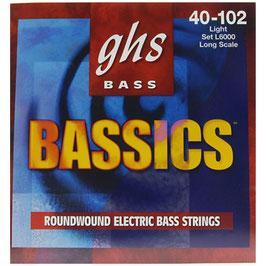 corde per basso GHS Bassics 40-102