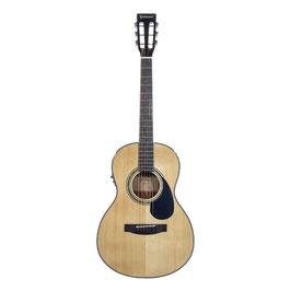 Chitarra acustica elettrificata Goldwood® CS-PE-NG con custodia semirigida