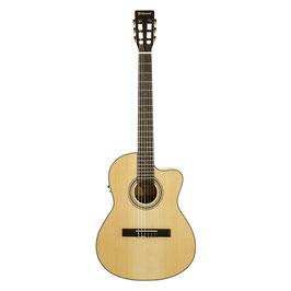 "Chitarra classica ""ibrida"" amplificata Goldwood PS-CHCE-NS con borsa semirigida"