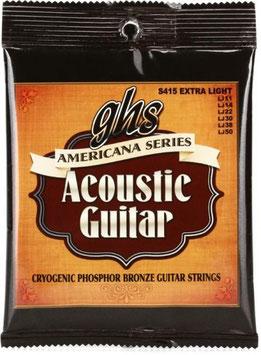 Corde per chitarra acustica GHS Americana Series