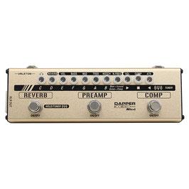 Valeton Dapper Mini Acoustic preamp analogico con effetti e DI per chitarra acustica