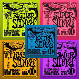 Corde per chitarra elettrica Ernie Ball Slinky - muta singola