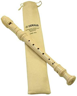 Flauto dolce soprano Yamaha YRS23 (DO) diteggiatura tedesca