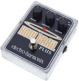 Reverbero a pedale per chitarra e basso Electro Harmonix Holy Grail Plus
