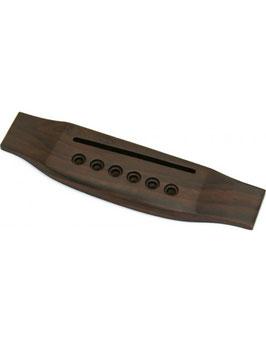 Ponte in palissandro per chitarra acustica 6 corde