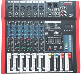 Mixer 8 canali Audio Design Pro PAMX 2.61