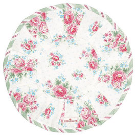 GreenGate Brotkorb Serviette, Tess white
