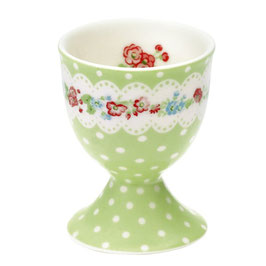 GreenGate Eierbecher, Ivy green