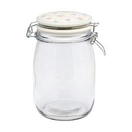 GreenGate Einmachglas, Smilla white 1000ml