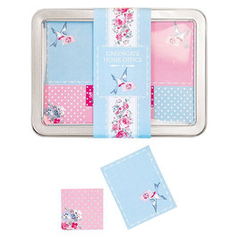 GreenGate Haftnotizen-Set, Simone blue