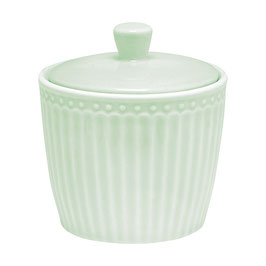 GreenGate Zuckerdose Alice pale, green