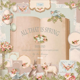 Tilda Papierset all that is Spring