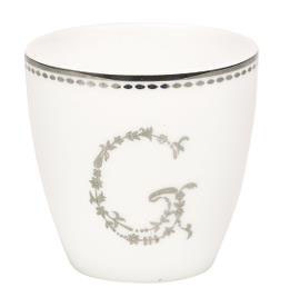 GreenGate Espressotasse, G silver