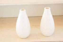 Vasen 2er Set, weiss