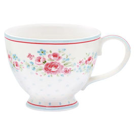 GreenGate XL Tasse, Tess white