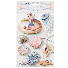 Tilda 3D Stickers-Seaside Life