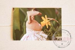 Rosamine Postkarte Dufte Ostern
