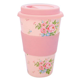 GreenGate Travel Mug, Marley pale pink