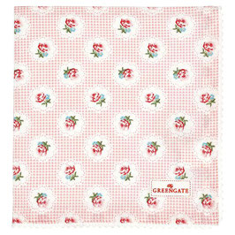 GreenGate Stofftuch, Tammie pale pink
