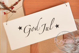 Rosamine Schild God Jul