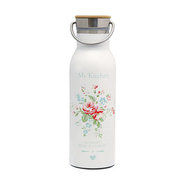 GreenGate Thermosflasche, Abelone white 500ml