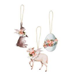 Tilda Materialset Frühlings-Ornamente