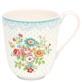 GreenGate Tasse, Wendy white
