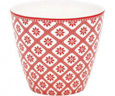 GreenGate Milchtasse, Bianca red