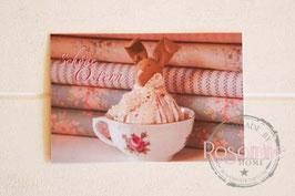 Rosamine Postkarte Schöne Ostern