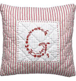 GreenGate Kissen, G red, 40x40